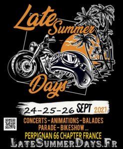 Late Summer Days 2021 Saint-Cyprien, 66 - Harley-Davidson Pyrénées Orientales